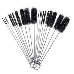 10Pcs Nylon Bottle Tube Nozzle Brushes Cleaning Brush Cleane