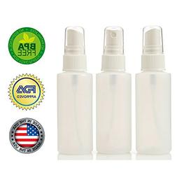 2oz Plastic Spray Bottles with Fine Mist Sprayer  FDA APPROV