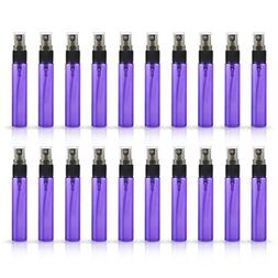 20 Pack Set 10ML Protable Refill Bulk Atomizer Spray Travel