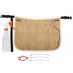 Professional Speed Cleaning Apron with Mobile Phone Holder,