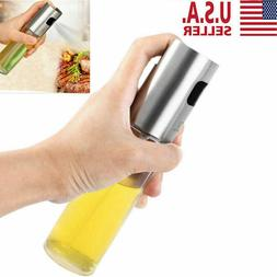 Stainless Olive Oil Sprayer Cooking Mister Spray Pump Fine B