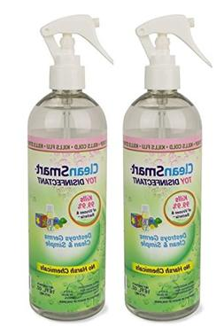 CleanSmart Toy Disinfectant Spray - No Rinse, No Wipe, Kills
