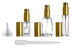 Riverrun Variety Set Small Travel Perfume Atomizers Glass Bo