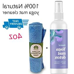 Asutra, 100% Natural and Organic Yoga Mat Cleaner, Safe for