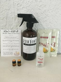 Young Living Thieves 6 items, household cleaner, glass spray
